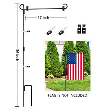 Garden Flag Stand, Premium Garden Flag Pole Holder Easy Assembly