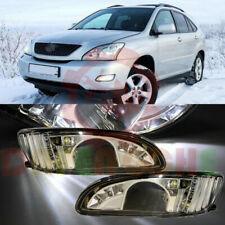 For Lexus RX300 RX330 RX350 HARRIER LED Fog Lights Left+Right Driving Lights
