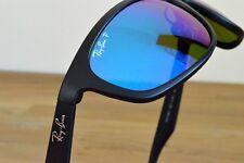 Nuevas Ray-Ban Gafas de sol RB4265 Negro Azul Espejo Polarizado 601-SA1