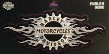 Rare Harley Davidson Patch Chromium LG EM841066  Biker Sturgis
