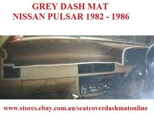DASH MAT, DASHMAT,DASHBOARD COVER FIT  NISSAN PULSAR 82-86,  GREY