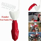 Plastic Front Number Plate Fender Cover for Honda CRF250R CRF250RX CRF450R 450RX
