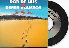 ROB DE NIJS & DEMIS ROUSSOS - On my own CD SINGLE 2TR DUTCH CARDSLEEVE 1995
