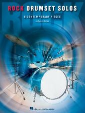 Rock Drumset Solos 8 Contemporary Pieces Percussion Book New 006620082