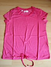 T-Shirt,Kurzarm,pink,Gr.XS,34/36 evtl.38,v.John Baner,unten Tunnelzug,Neu,