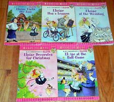 LOT of 5 ELOISE  ~ Ready to Read ~  GIRLS BOOKS  ~ AR Level 1 ~ Kay Thompson