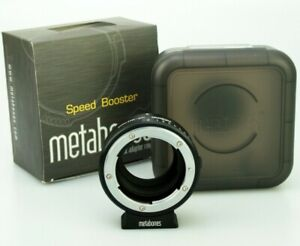 Metabones Nikon F / G to Micro Four Thirds M4/3 Adapter - in Speed Booster box