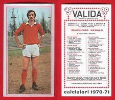 FIGURINA CALCIATORI PANINI 1970/71 - NUOVA - TRASPEDINI - VARESE