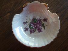 Scalloped Violet Shell Soap - Trinket Dish