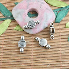 14pcs tibetan silver pattern connector charms h0756