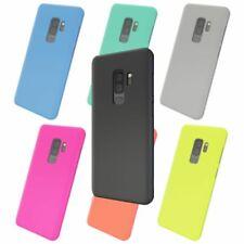 Samsung Galaxy S9 Plus Case Phone Cover by NALIA, Thin TPU Neon Silicone Back