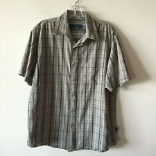 NWT Youth WOODY/'S RETRO LOUNGE Hipster Panel Button Front Classic Shirt M