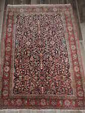 4x5ft. Handmade Antique Wool Rug