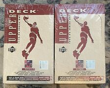 2 X 1994-95 Upper Deck Series One w Michael Jordan Factory Sealed Box W 36 packs