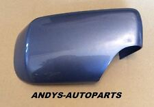 BMW 3 SERIES E46 01 - 05  WING MIRROR COVER L/H OR R/H IN STAHL BLAU