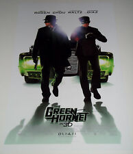 SETH ROGEN In-Person Signed 11x17 Photo of the Green Hornet Movie Poster w/COA