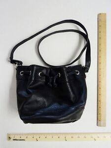 Candies Black Purse HandBag Mini Hobo Bucket - FLASH SALE