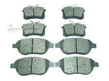 PEUGEOT 307 1.6 2.0 2.0 HDI 01-08 FRONT & REAR DISC BRAKE PADS (CHECK SIZE)