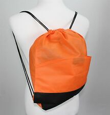 303263f3d8d8 Drawstring Backpack Ourange 20-Pack 16x13 Tote Gym Bag Travel Outdoor  Fitness