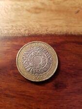 2006 £ 2 moneda de dos libras de tecnología de pie sobre los hombros de los Gigantes