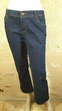 BONOBO JEANS BOOTCUT FIT Taille 44 pantalon jaens jean denim bleu brut femme