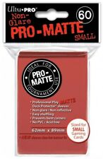 Ultra Pro 60 pouches Deck Protector Pro-Matte card Small 62x89mm Red 842635