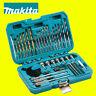 Makita P-90233 75 Piece Drill Bit Holesaw Flat Bit Socket HSS Wood Drill Set