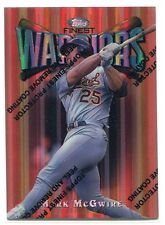 1997 Finest Refractor 30 Mark McGwire Bronze Common