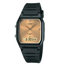Casio AW48HE-9AV, Classic Watch, Analog/Digital Combo, Black Resin Band, Alarm