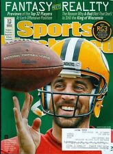 2013 Sports Illustrated: Aaron Rodgers/ SI's Top Dogs/RG3 Playing Hurt