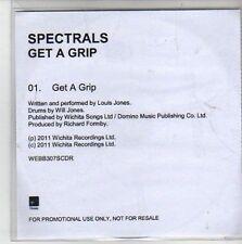 (CG738) Spectrals, Get A Grip - 2011 DJ CD