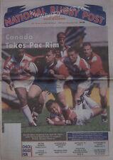 NATIONAL RUGBY POST Vol 10 No 3 Jun/Jul 1997 CANADA MAGAZINE