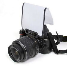 Universal Pop Up Flash Diffuser Soft Screen DSLR Nikon D3100 Canon 500 etc JL