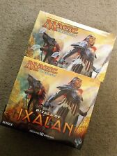 MAGIC THE GATHERING RIVALS OF IXALAN BOOSTER BOX & BUNDLE FAT PACK LOT MTG
