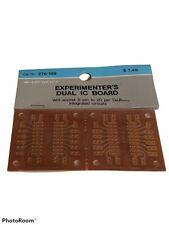 Radio Shack Experimenters Dual Ic Board 276 159 Archers