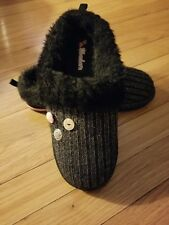 Girls Youth Skechers 88665L Slippers black Size 4