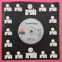 The Three Degrees - Woman In Love / Out Of Love Again - Ariola ARO-141 Ex