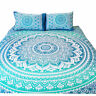 Oriental Mandala Quilt/Doona/Duvet Cover Set Single/Double/Queen/King Size Bed