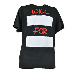 Will.. For... Authentic Spencer Graphic Tee Novelty Fashion T-Shirt C-Neck Black