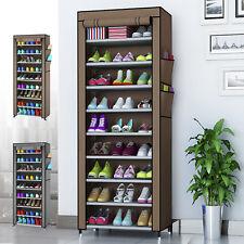 Porte-chaussures Etagères Meuble De Rangement 10 Couches Storage Grande Capacité