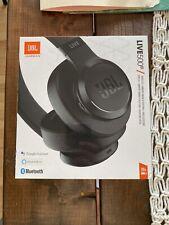 JBL Live 500 BT Around-Ear Wireless Headphone - Black   Brand New