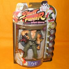 1999 RESAURUS CAPCOM STREET FIGHTER ROUND ONE RYU FIGURE MOC CARDED PLAYER 2