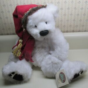 GANZ Cottage Collectibles 2000 Christmas Bear 'Frostbite' CC1712 Mary Holstad NC