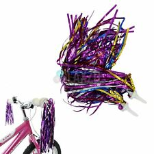 VORCOOL Kids Colourful Bicycle Streamers Tassel Ribbons for Boys Girls Yellow