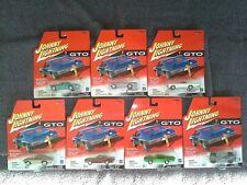 Johnny Lightning 7 car lot Pontiac GTO Lot  MIP/MOC from 2001 w/PACKAGING ERROR