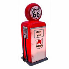 Retro Vintage Fuel Bowser Classic Route 66 Table Lamp Light Get Your Kicks