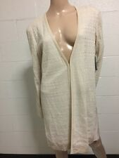 exclusively misook Nwt Cardigan Women Size Large Acrylic Textured