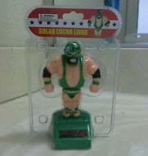 SOLAR POWER DANCING WRESTLING LUCHA LIBRE (with Green outfit)..(●_●).(●_●).