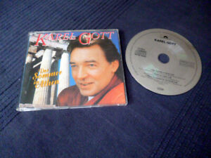 CD single Karel Gott  Der Sommer In Athen | Mitten Im Leben | Wenn du Aufwachst