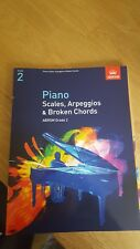 Book Piano Scales,Arpeggios& Broken Chords Grade2